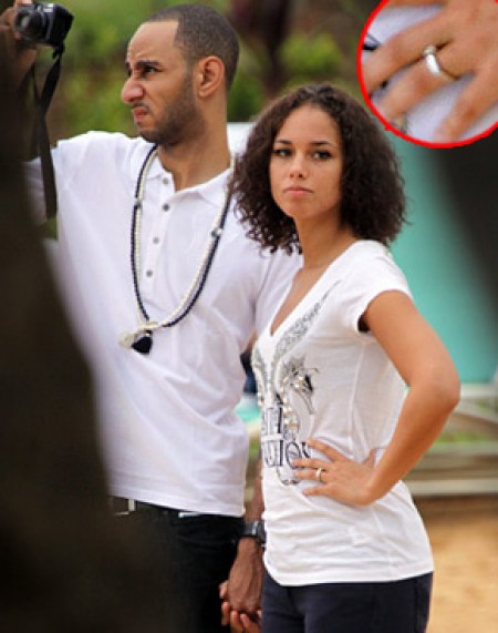 However a trusted and reliable source revealed to us that Alicia Keys and