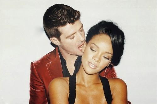 Robin Thicke Rihanna
