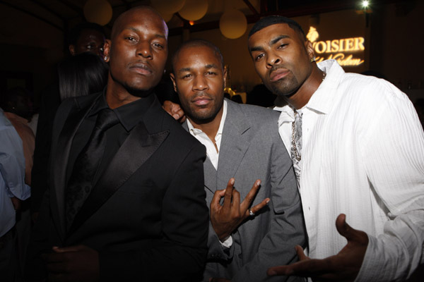 star member Tyrese Gibson has officially announced the reunion of TGT ...