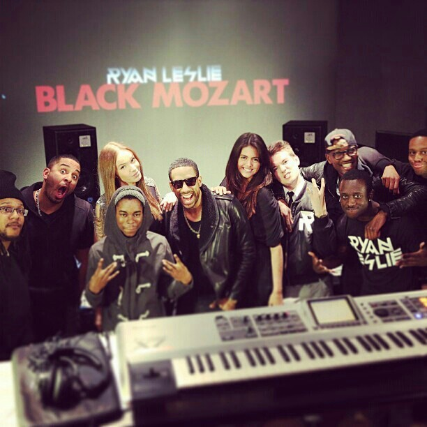 Ryan Leslie Black Mozart