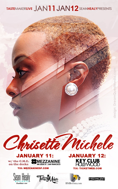 Chrisette Michele Cali shows