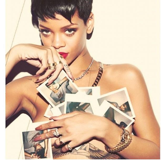 magazine Rihanna photoshoot complex