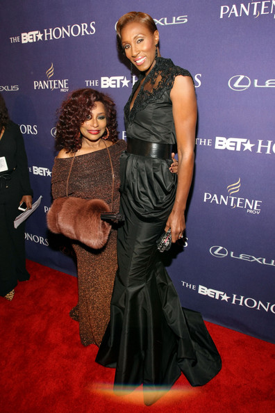 Chaka Khan and Lisa Leslie