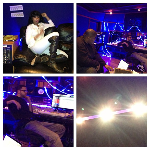 Jennifer Hudson in studio 2