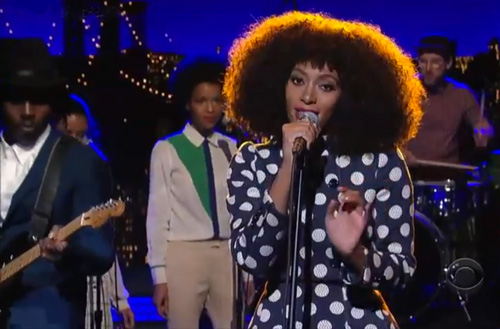 Solange-on-Letterman