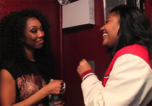 Jazmine Sullivan Says Shes Brandy's Biggest Fan + Brandy Performs Live