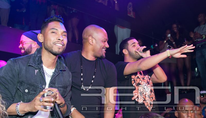 Miguel Big Tigger and Drake