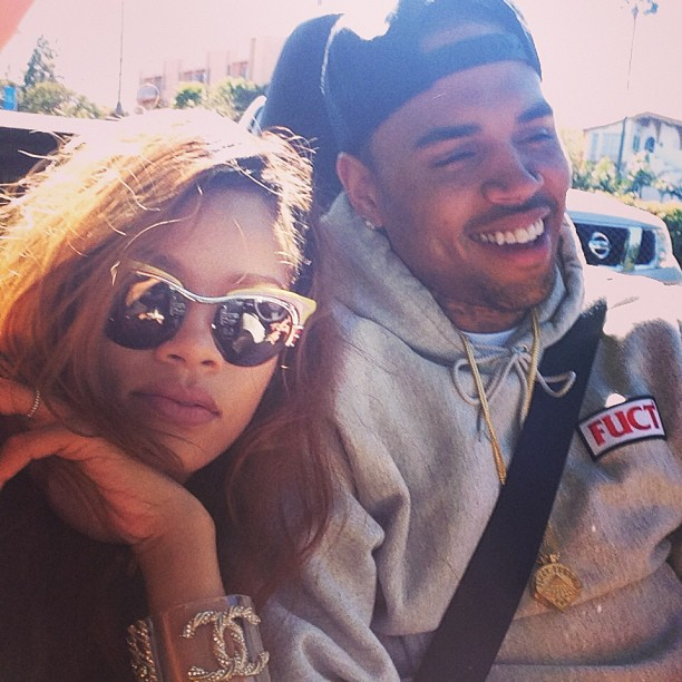 Rihanna and Chris New