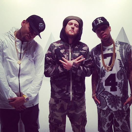 tyga-chris-brown-for-the-road-video-shoot5