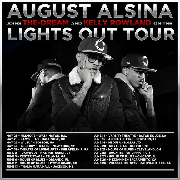 August Tour Dates