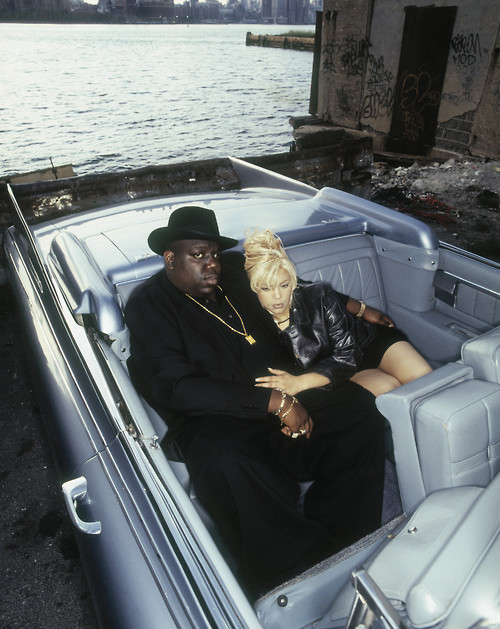 The Notorious B.I.G. and Faith Evans