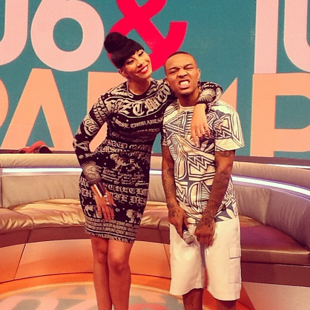 Bridget & Bow Wow on 106
