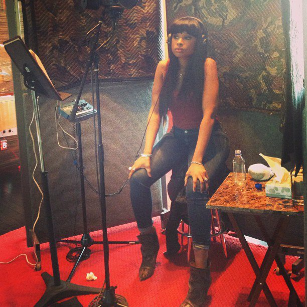 Jennifer Hudson In Studio