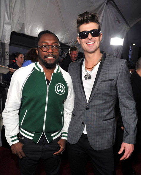 Robin Thicke & Will.I.Am