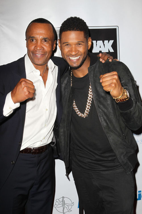 sugar ray and usher clinching fists 2
