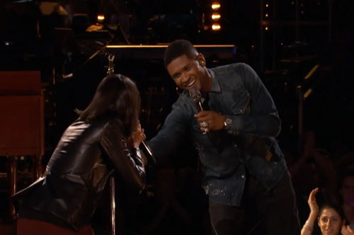 Usher-&-Michelle-Chamuel-on-The-Voice