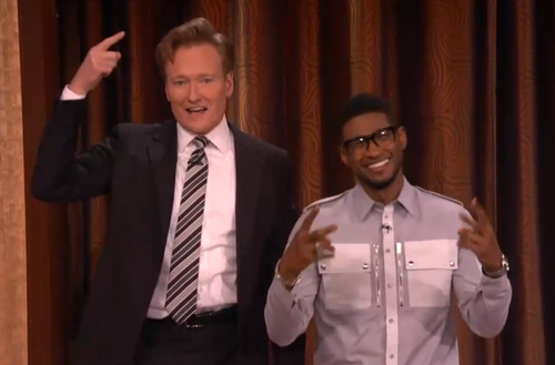 Usher-on-Conan