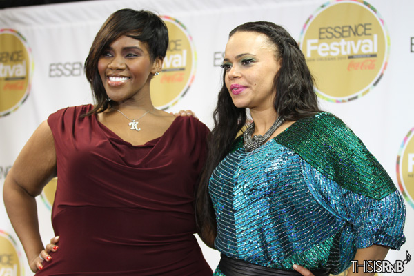 Faith Evans & Kelly Price Perform Live at Essence Music Festival
