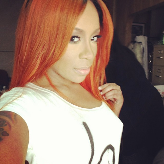"First Look: K. Michelle ""Can't Raise A Man"" Video Shoot ... K Michelle 2013 Photoshoot"