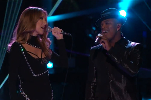 Celine-Dion-&-Ne-Yo-Perform-Incredible-on-The-Voice