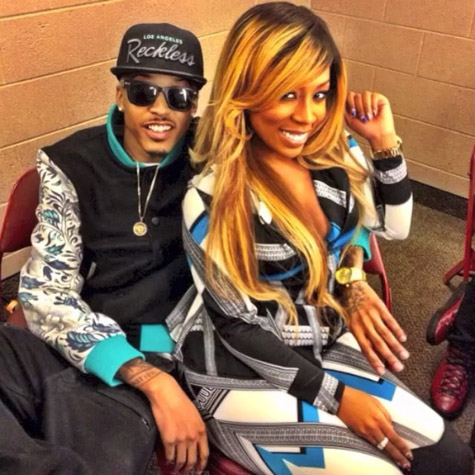 August Alsina Girlfriend August alsina girlfriend 2014