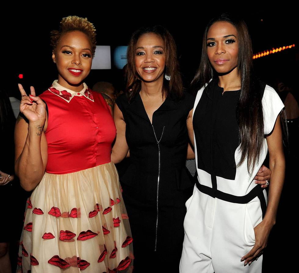 Chrisette Michelle, Shawn Thompson, Michelle Williams