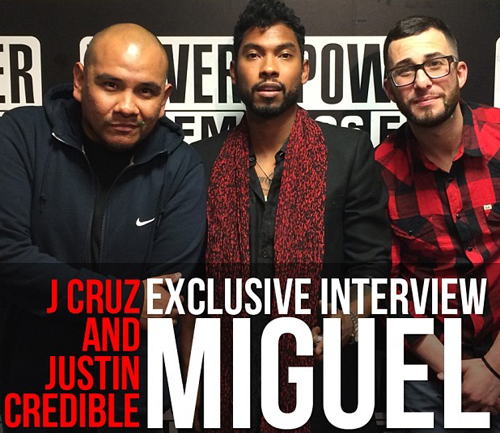 Miguel Power 106 Liftoff Interview