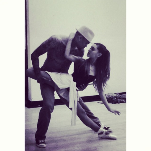 Chris Brown & Ariana Grande