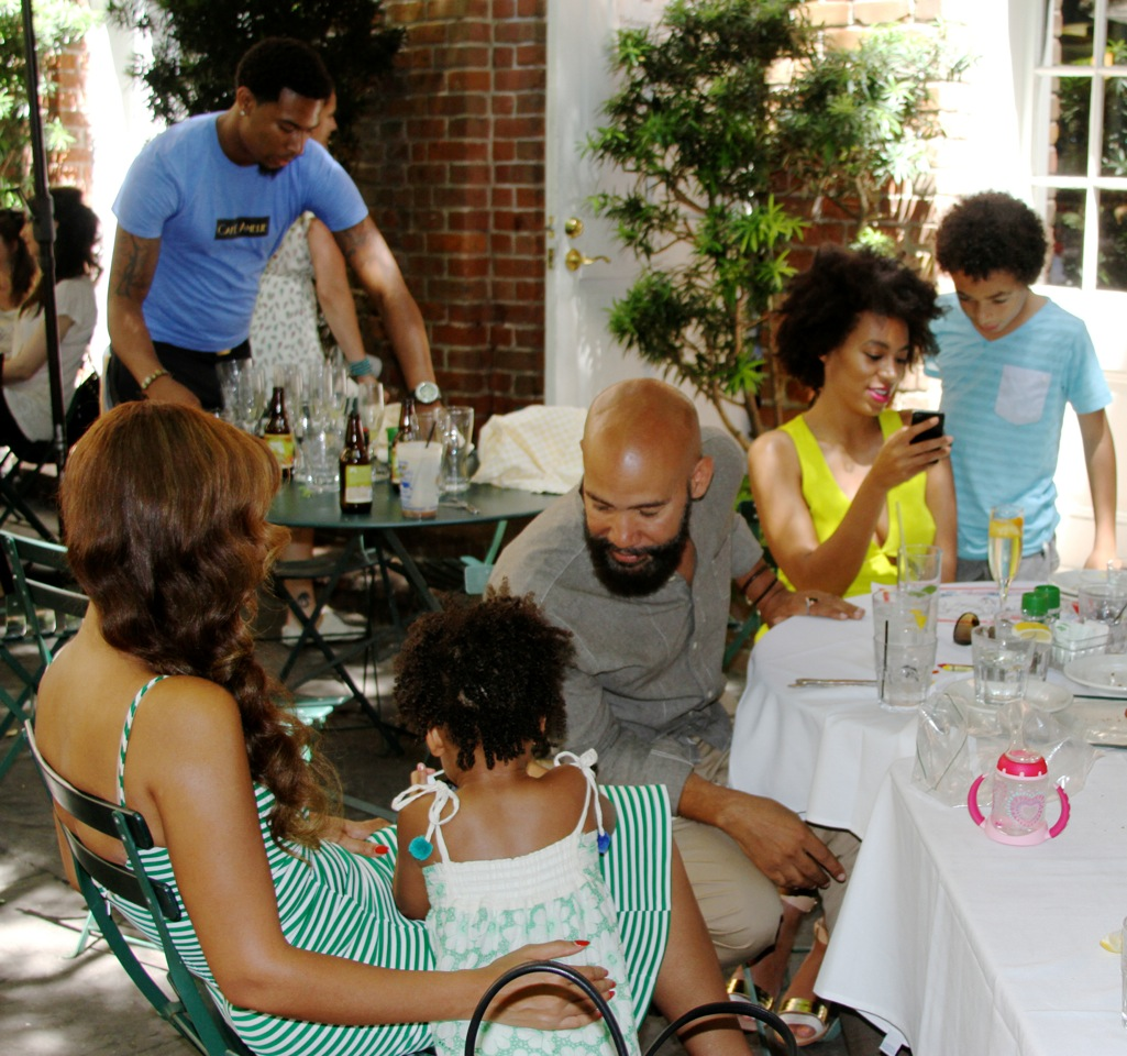 Beyonce, Solange, Blue Ivy New Olreans