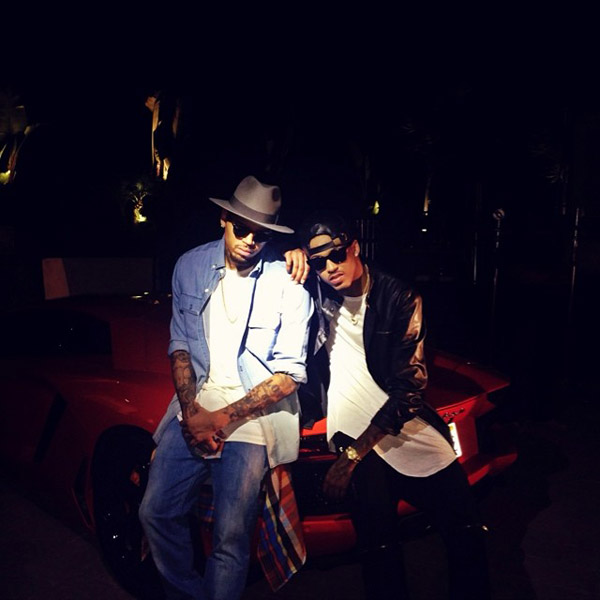 Chris Brown & August Alsina Khaled-video