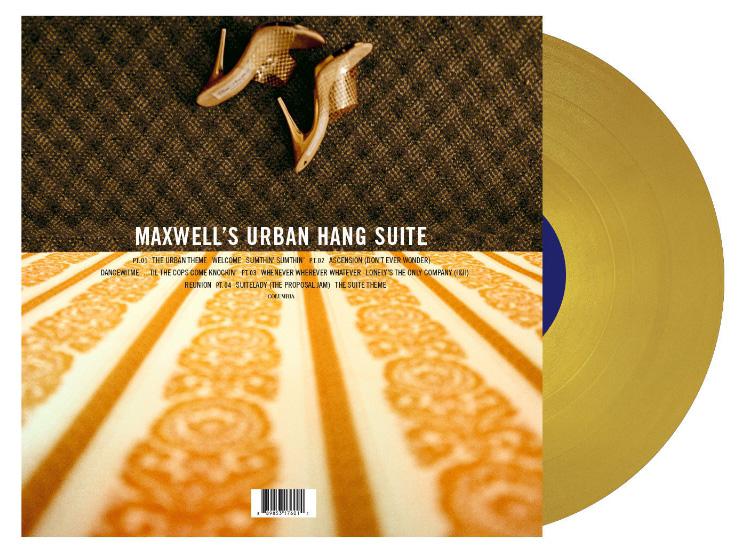 """""""Maxwell's Urban Hang Suite"""" Vinyl (PRNewsFoto/Legacy Recordings)"""
