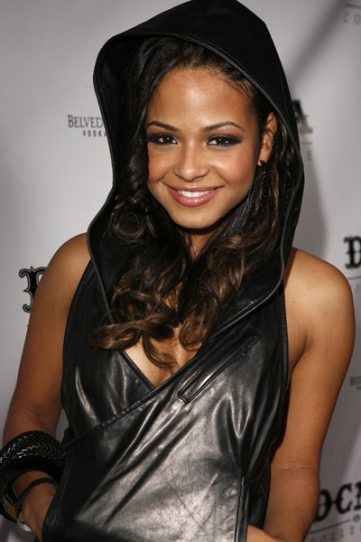 Christina Milian arrives at the DCMA Collective Store opening on March 14, 2008 in Los Angeles, California.