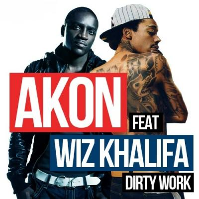 Akon Dirty Work cover
