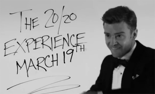 Justin-20-20-experience-date