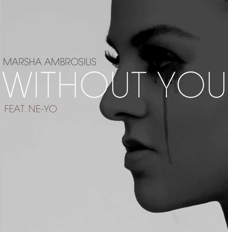 Marsha Ambrosious Without You Single Cover