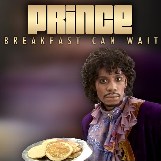Prince Dave Chappelle Breakfact Can Wait Cover