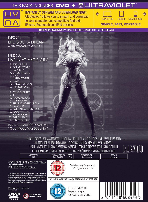 Beyonce DVD 91+WDXDEd7L._SL1500_