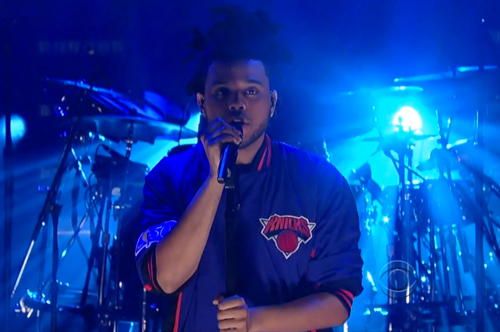 The-Weeknd-Performs-on-Letterman