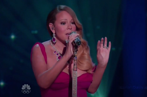 mariah carey performs on michael bubls christmas special 2013 - Michael Buble Christmas Songs