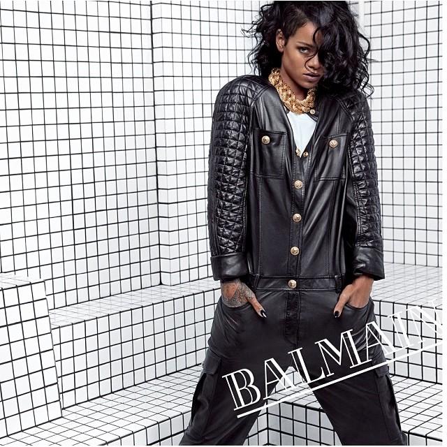 Rihanna Balmain 2
