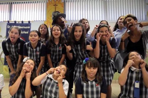 Pharrell-Surprises-School