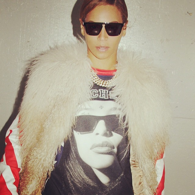 Beyonce Aaliyah 1