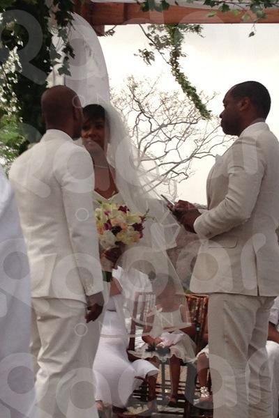Kelly Rowland Wedding 1