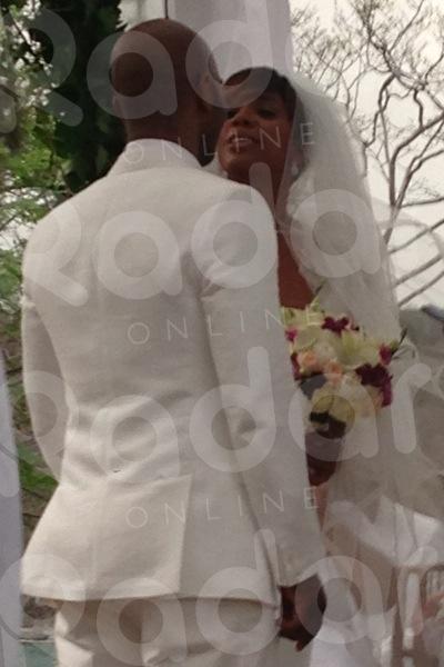 Kelly Rowland Wedding 3