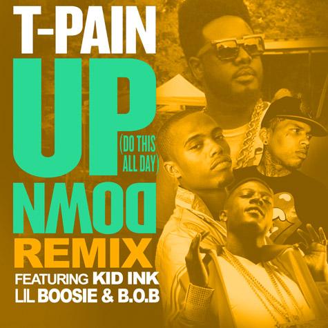 T-PAIN up-down-remix