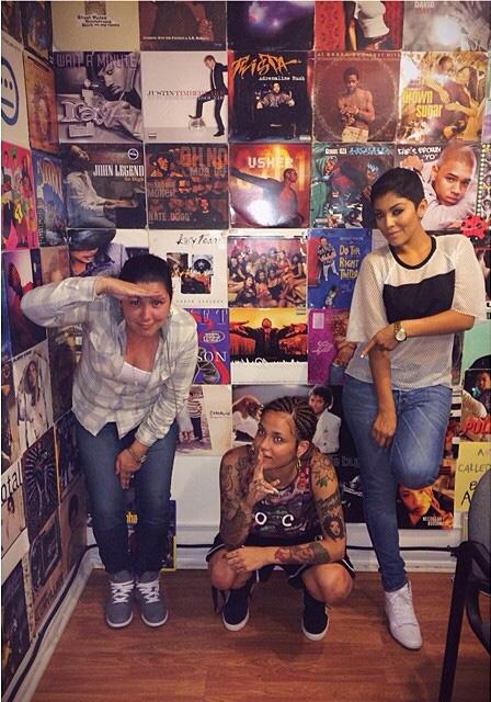 DJ Carisma Kehlani Abby De La Rosa