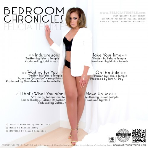 Felicia Temple Bedroom Chronicles EP (Back)
