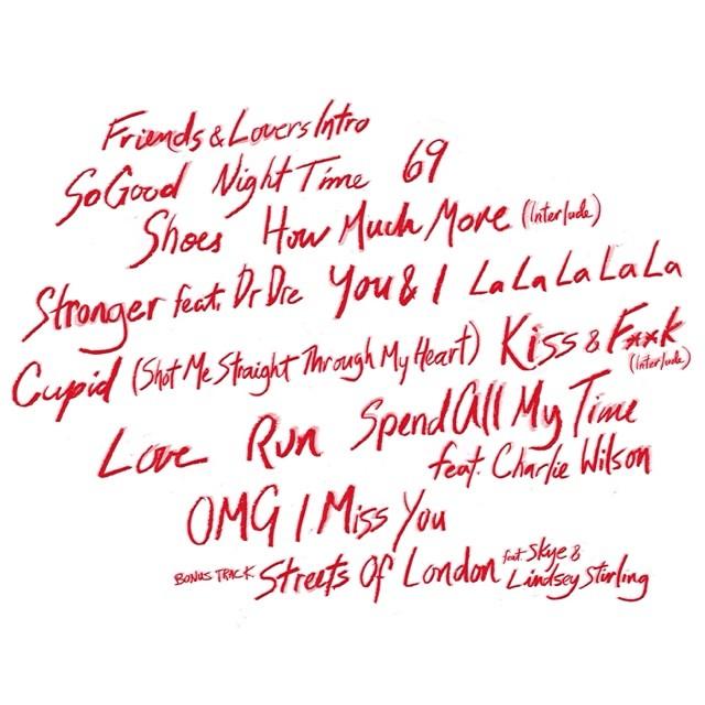 Marsha Ambrosius Friends & Lovers Tracklisting