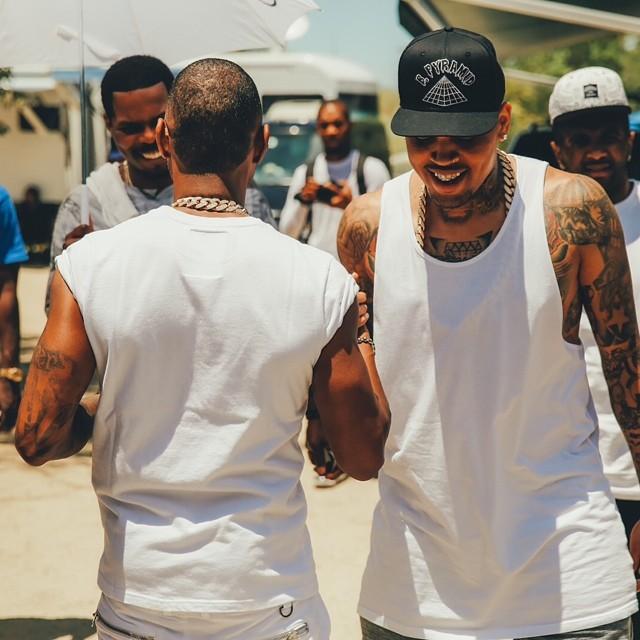 Chris Brown Usher New Flame 1
