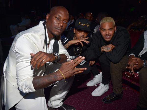 Tyrese, August Alsina, Chris Brown